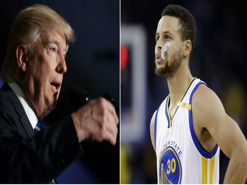 Curry le responde a Trump tras retirar invitación a Casa Blanca