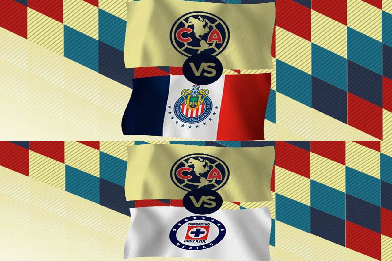 América desvela horarios de clásicos contra Chivas y Cruz Azul