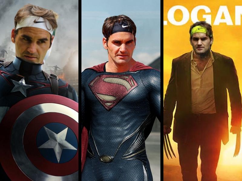 Roger Federer incursiona en el mundo de los superhéroes
