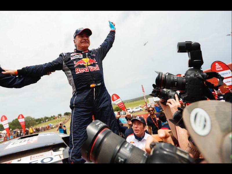 Sainz conquista su 2da corona en el Rally Dakar