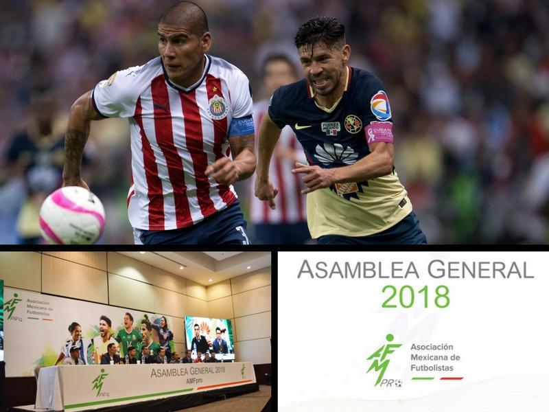 Peralta y Salcido, presidentes de la Asociación Mexicana de Futbolistas