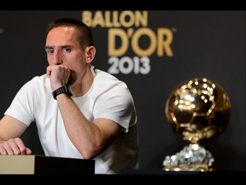 Ribery denuncia 'robo' de Balón de Oro en 2013
