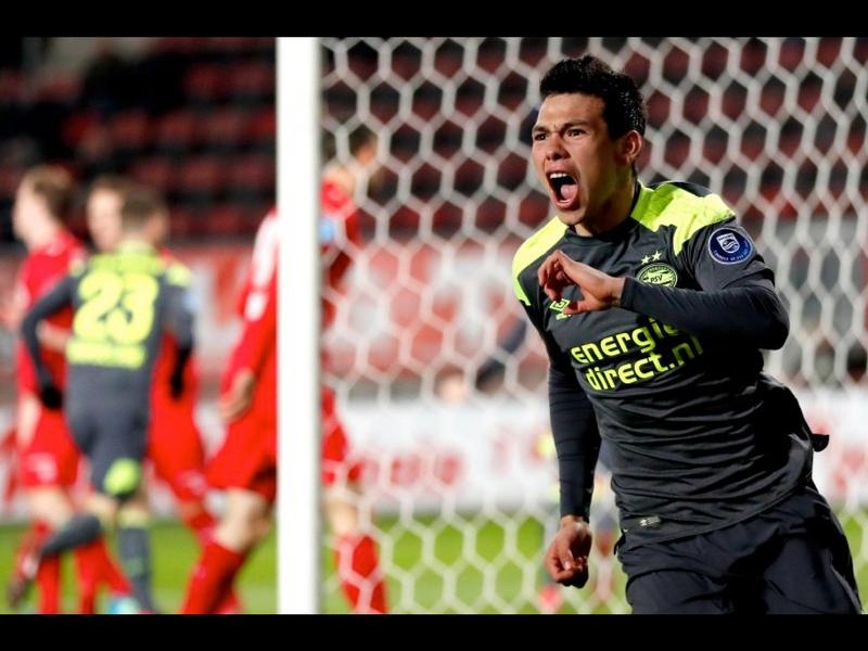 'Chucky' Lozano comanda victoria del PSV