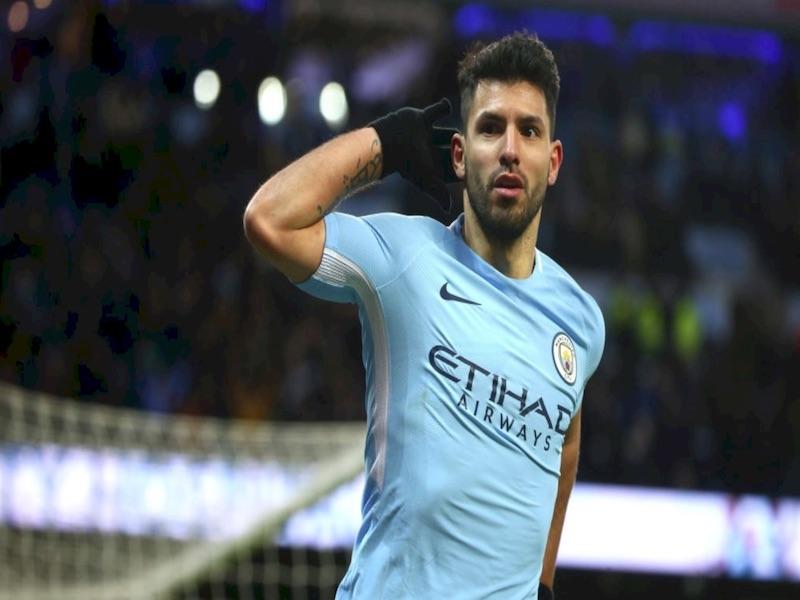 'Kun' le da victoria al 'City' en la English Carabao Cup