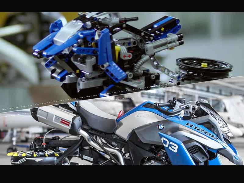 Conoce la moto voladora creada por BMW y LEGO