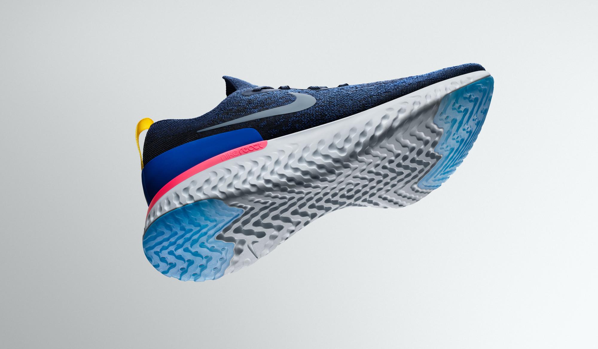Epic React Flyknit, la apuesta de Nike para runners