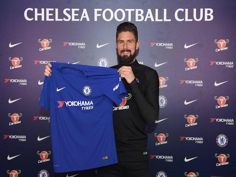 Olivier Giroud se convierte en delantero del Chelsea