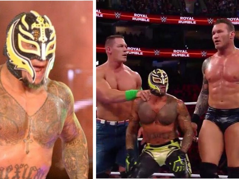 VIDEO: Rey Mysterio regresa a WWE y enloquece a fans