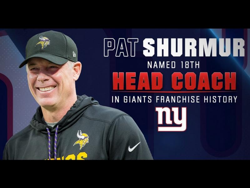 Giants contratan como entrenador a Pat Shurmur
