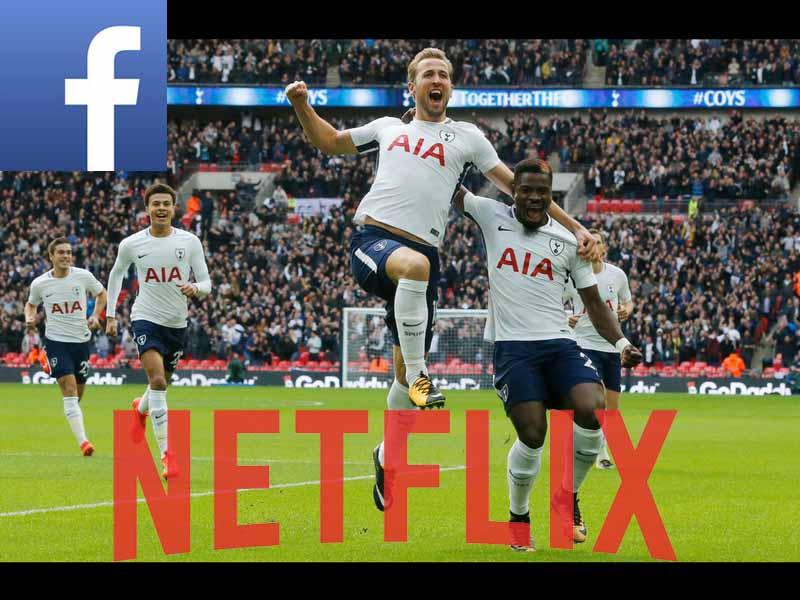 Facebook, Amazon y Netflix van por la Premier League