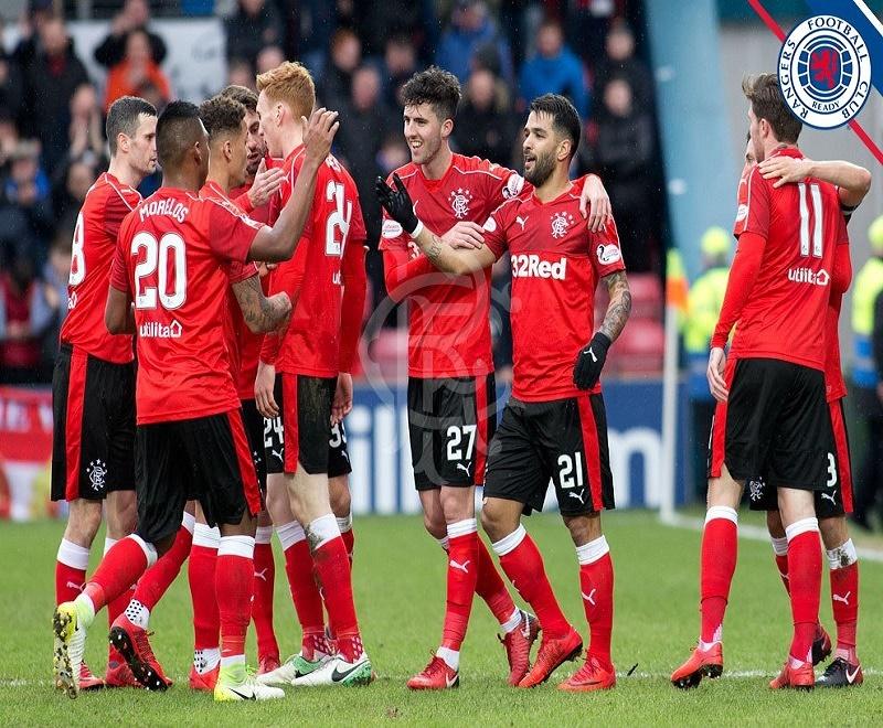 Rangers, sin Herrera es sublíder de Escocia