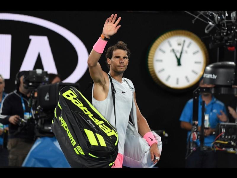 Rafael Nadal fuera del Abierto de Australia