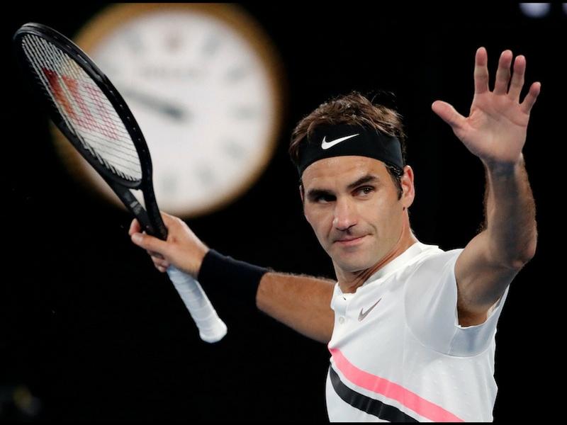 Federer, el personaje más importante de 2018