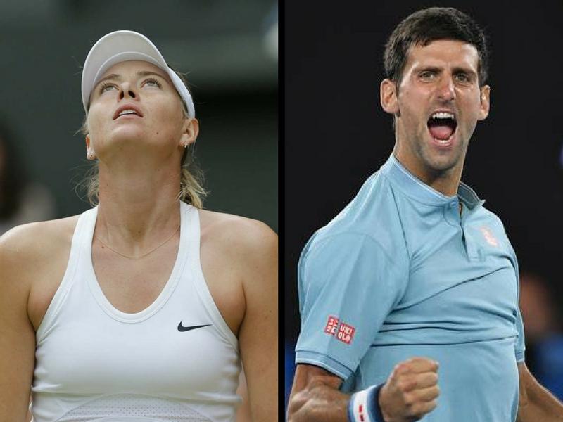 Djokovic avanza y Sharapova se despide del Abierto de Australia