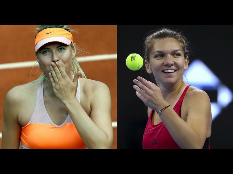 Sharapova y Halep se instalan en semis de Shenzhen