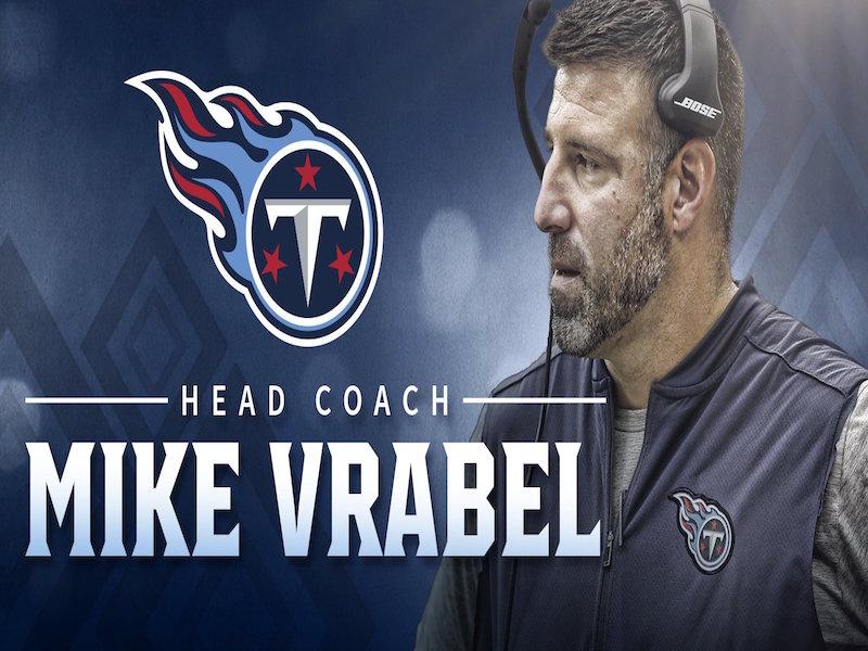 Mike Vrabel, nuevo entrenador de Titans