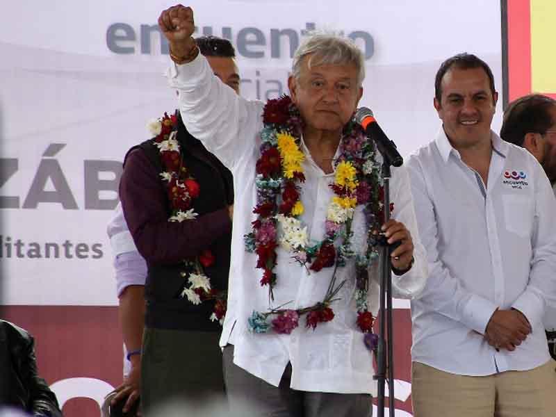 """""""AMLO es un tipo sincero, lástima que le vaya a Pumas"""": Blanco"""