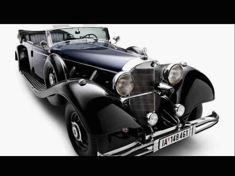 Auto de Hitler se queda sin comprador en subasta