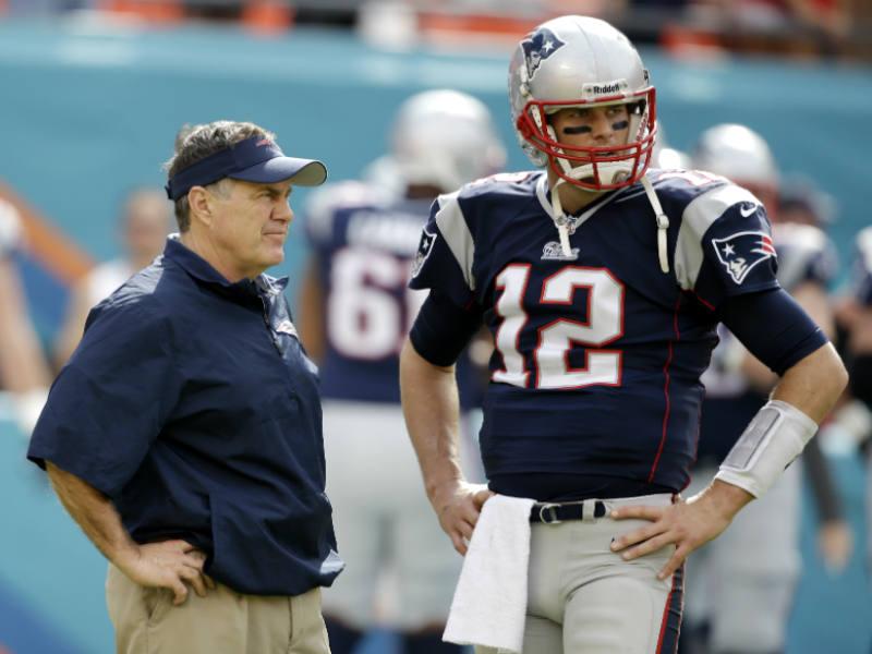 Brady y Belichek van por su noveno Super Bowl