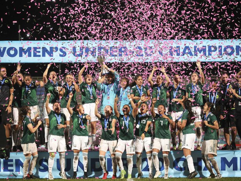 Tri Femenil, Campeonas de Premundial Sub-20