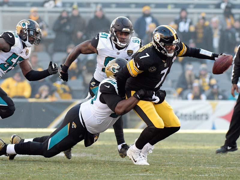 Jaguars eliminan a los Steelers