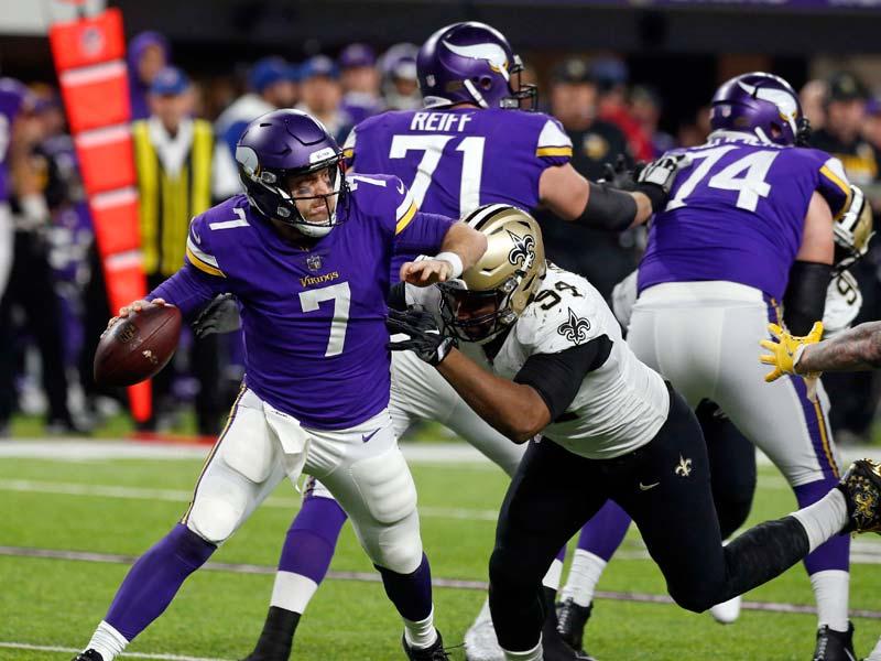 Los Vikings vuelven a la final de la NFC