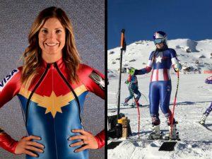 Los 'Súper' uniformes del equipo estadounidense para juegos invernales