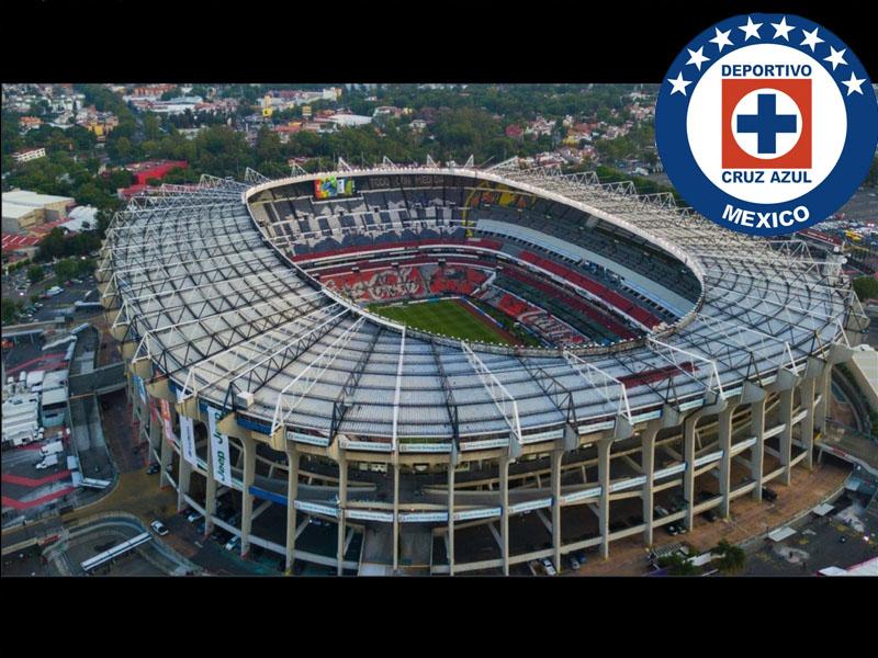 Estadio Azteca cambiaría su cancha por llegada de Cruz Azul