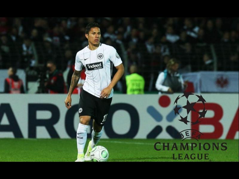 Salcedo y Frankfurt asaltan puestos de Champions League