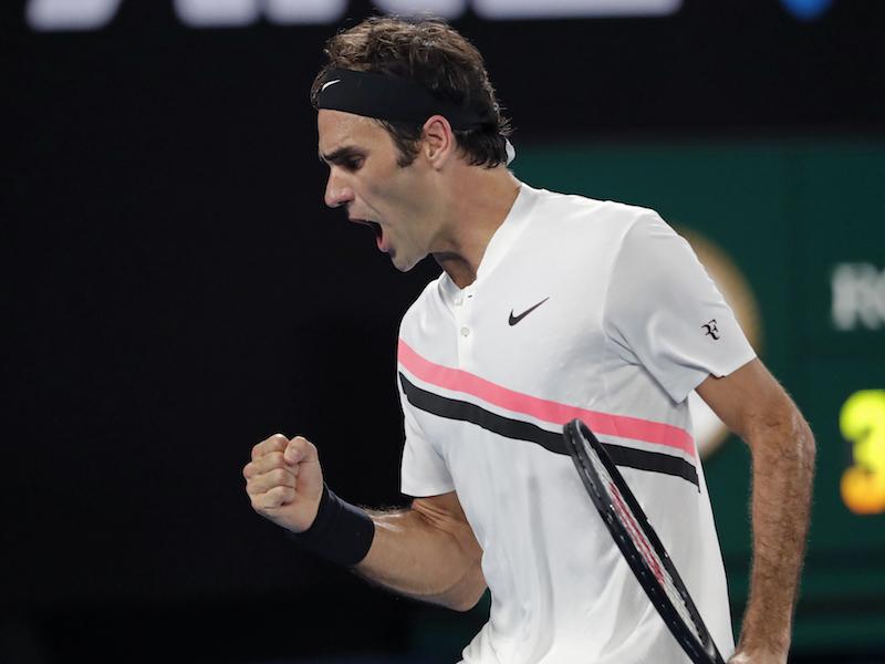Roger Federer, más número uno que nunca