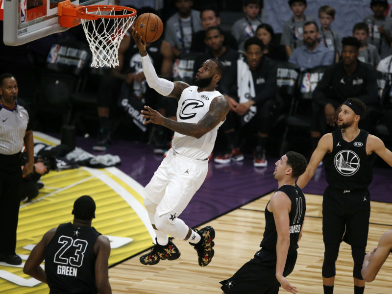 Team LeBron vence a Team Curry en NBA All-Star 2018