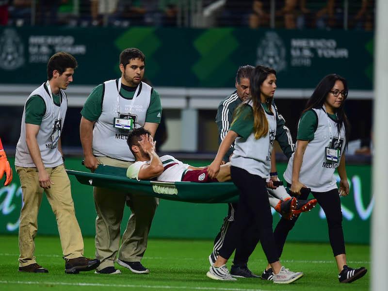 Néstor Araujo ve lo positivo de su lesión