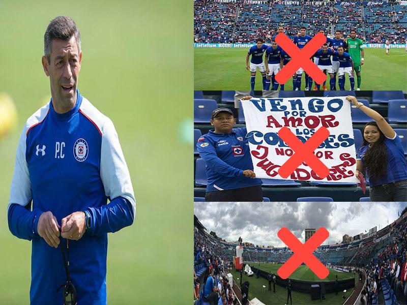 Cruz Azul y sus vergonzosos números en el Clausura 2018