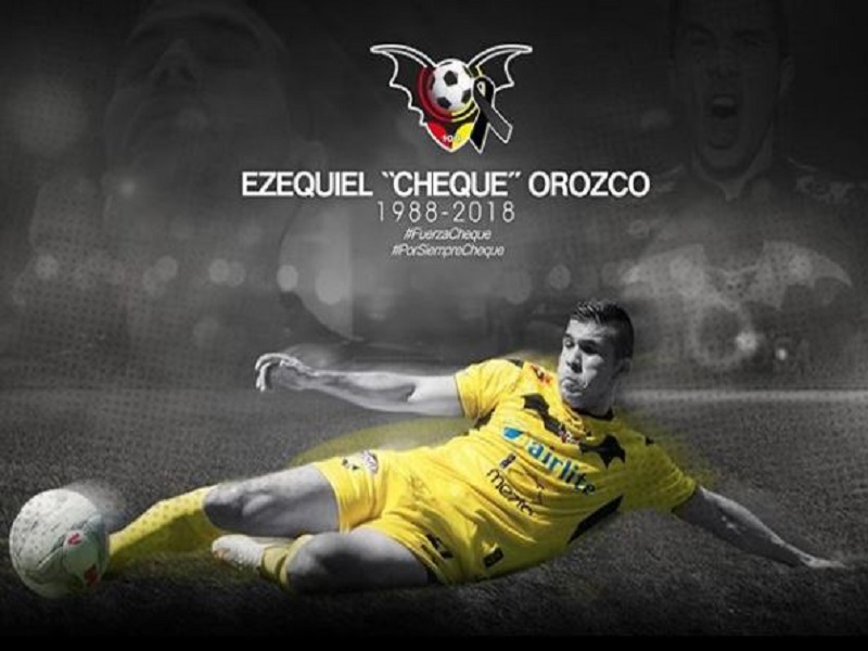 Murciélagos FC rinde homenaje a Ezequiel 'Cheque' Orozco