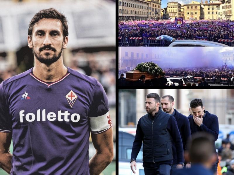 Florencia le da el último adiós a Davide Astori