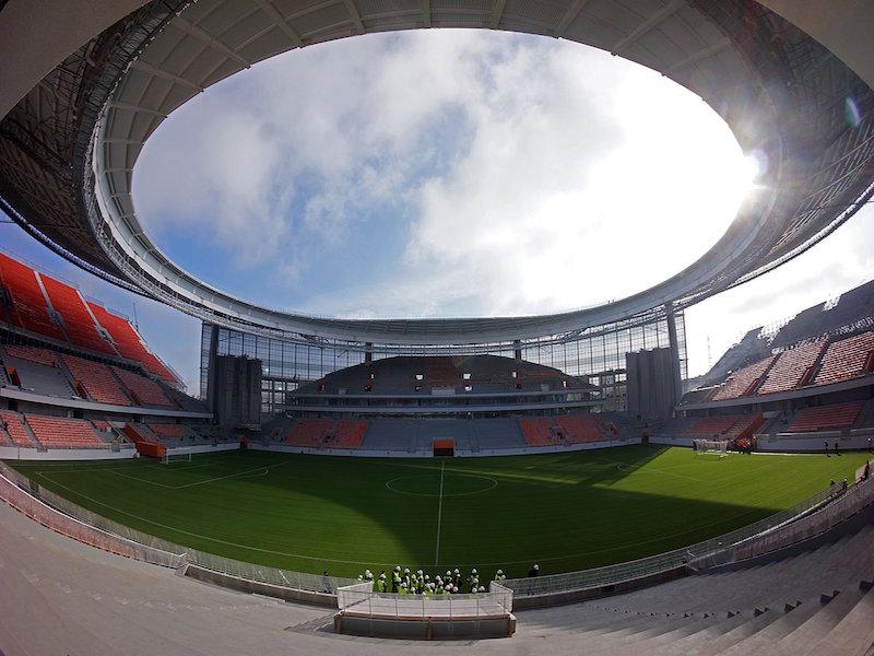 Estadio mundialista donde jugará el Tri está listo