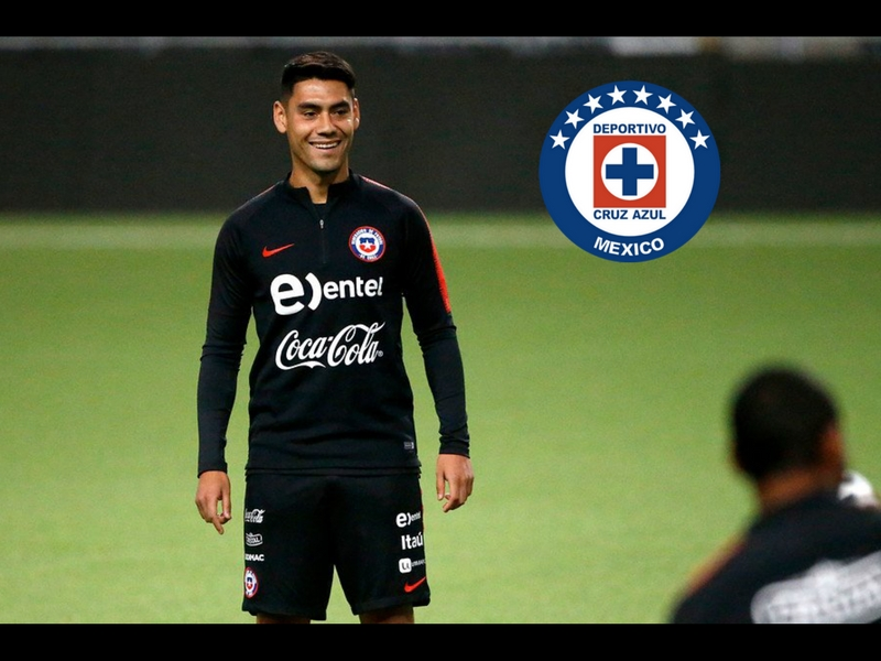 Cruz Azul pierde a Felipe Mora