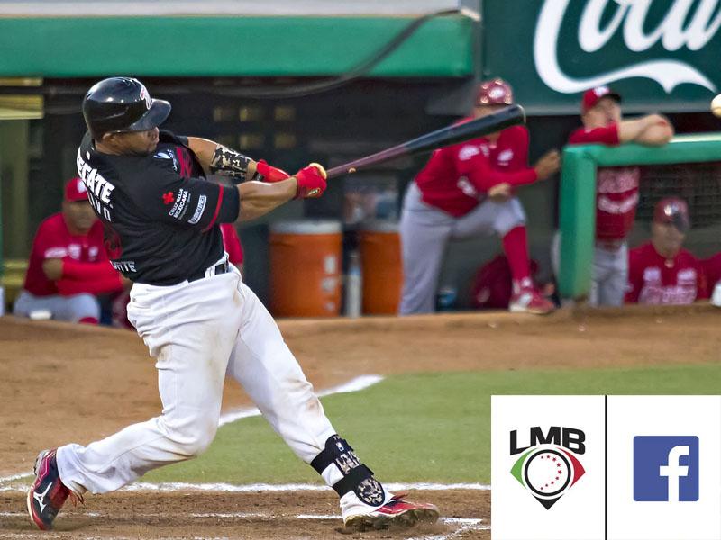 Liga Mexicana de Beisbol será transmitida por Facebook