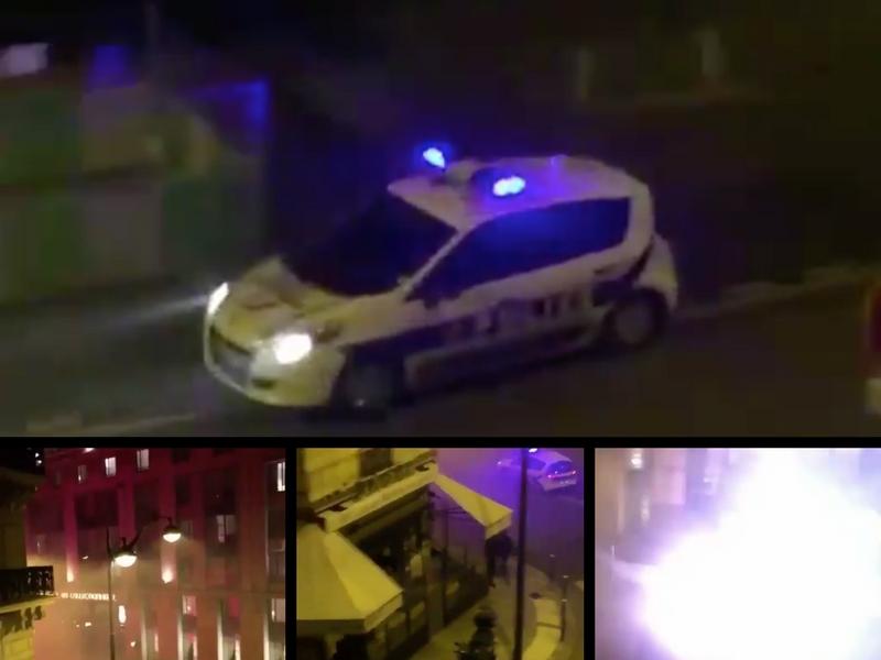 VIDEO: Ultras del PSG atacan hotel del Real Madrid