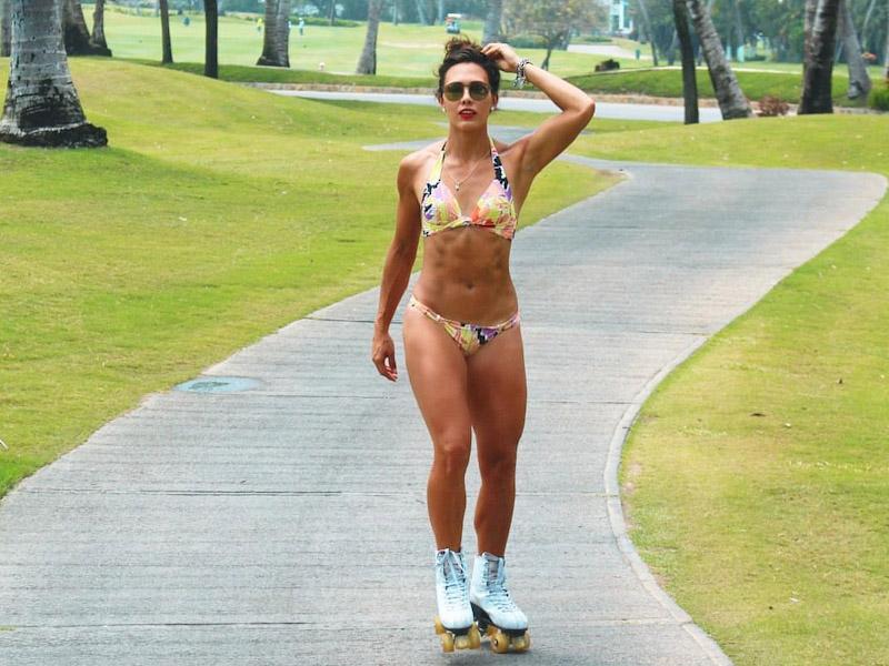 Macky, la chica fitness que nos encanta en Exatlón