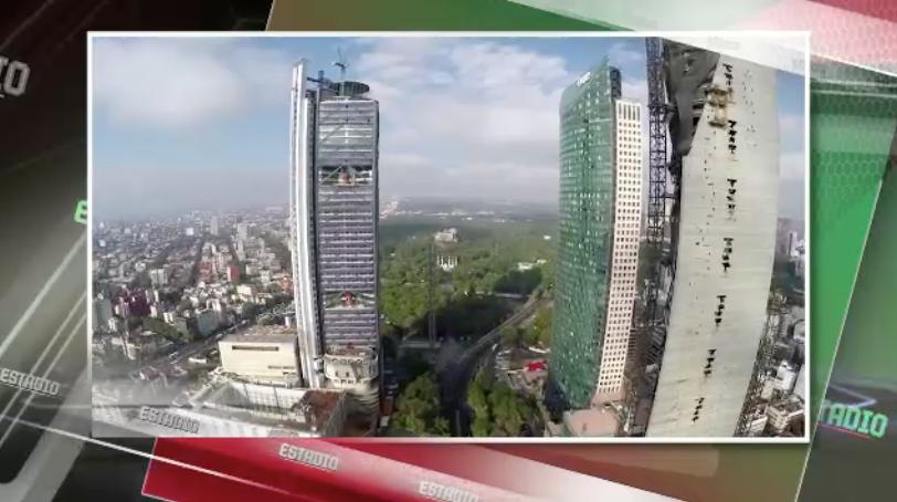 Cancelan clavados de altura en Reforma