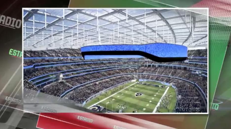 Aumenta costo del nuevo estadio de los Rams