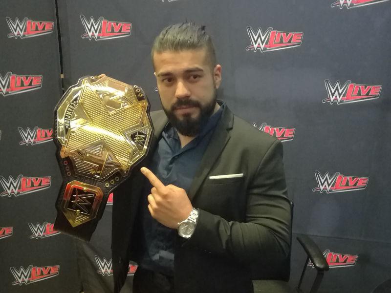 """""""Quisiera ver a Rush y Volador en WWE"""": Andrade 'Cien' Almas"""