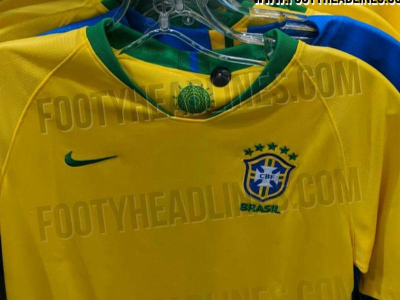 Filtran uniforme de Brasil para Rusia 2018