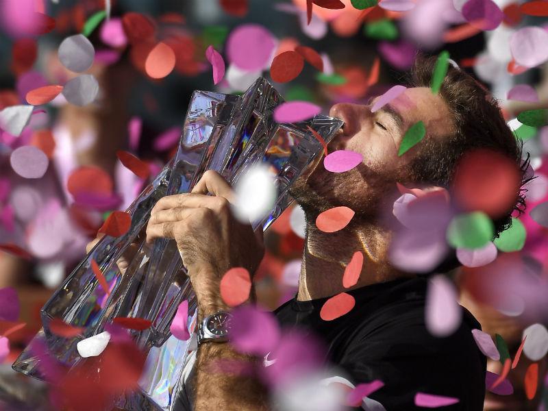 Del Porto se corona sobre Federer en el Indian Wells