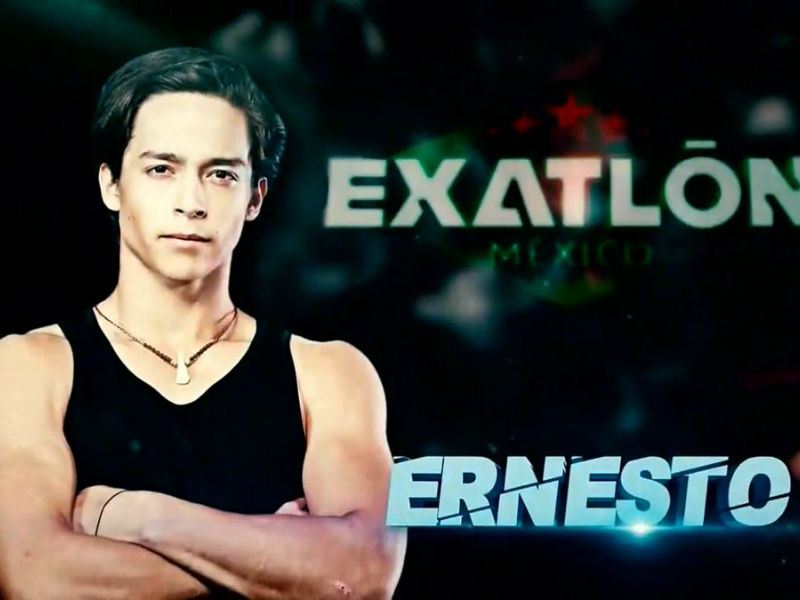 ¡Ernesto Cázares, Campeón de Exatlón México!