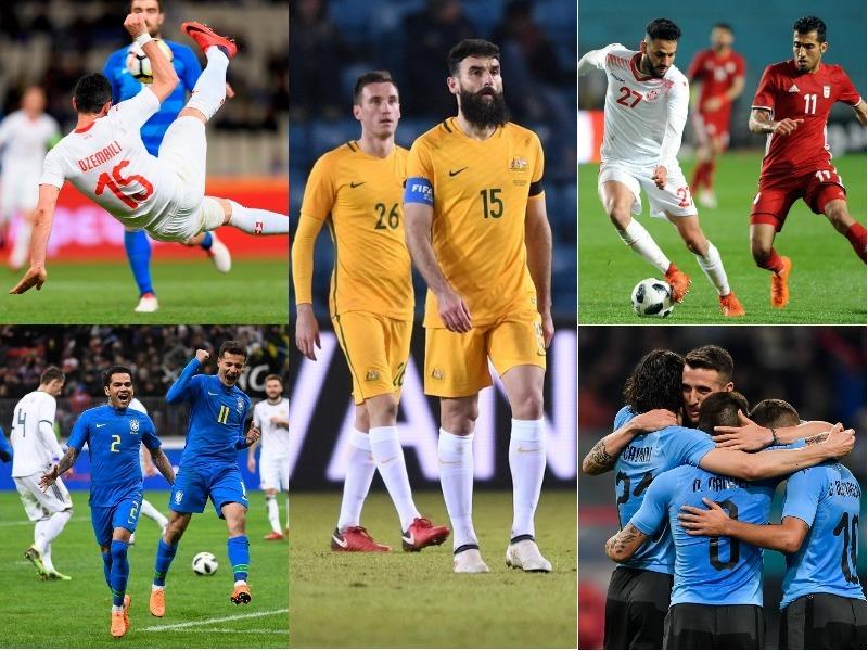 Resultados de los equipos mundialistas en Fecha FIFA
