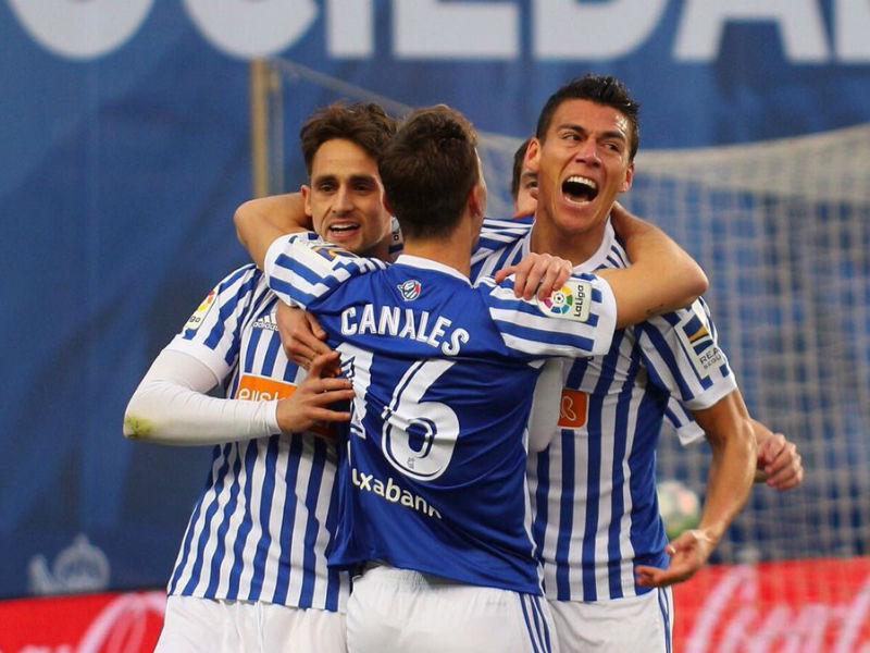 Video: Héctor Moreno anotó con la Real Sociedad