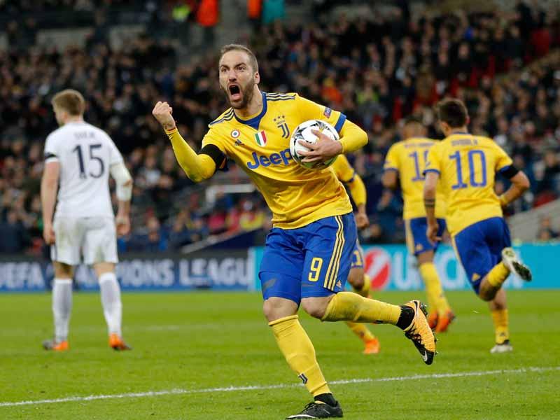 Juventus sorprende a Tottenham en pleno Wembley