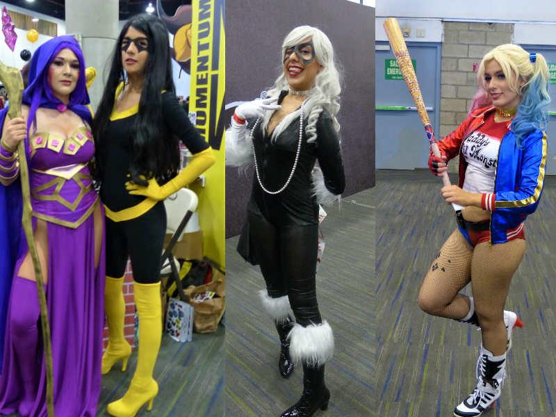 Las 'cosplayers' más sexys en la Mole Comic Con